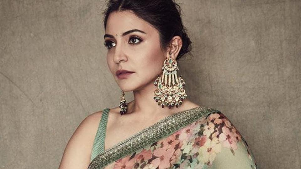 Anushka Sharma was recently seen in a classic Sabyasachi saree.