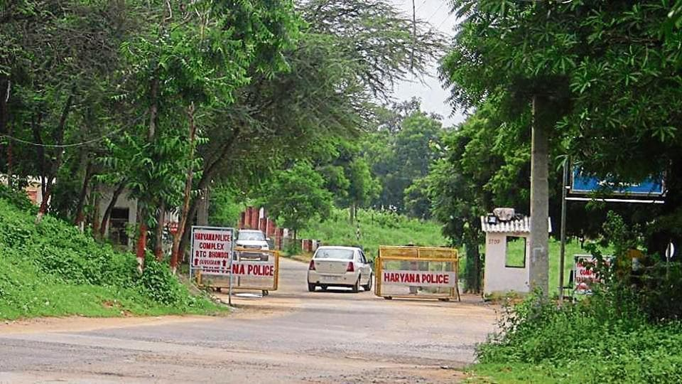 The Indian Reserve Battalion, which runs the police training and research centre (in picture), presently occupies over 300 acres of PLPA notified land in Bhondsi.