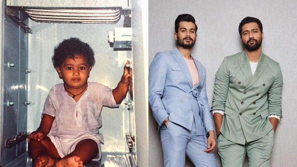 Vicky Kaushal's brother Sunny Kaushal trolled him for looking cute in his childhood picture.
