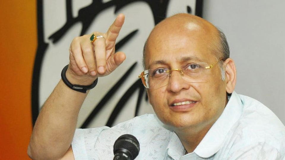 """Expressing concern over the economic slowdown, Singhvi said the situation is like that of a """"financial emergency"""". He raised the issue of slowdown in automobile sector, crashing stock exchange and rising fiscal deficit."""