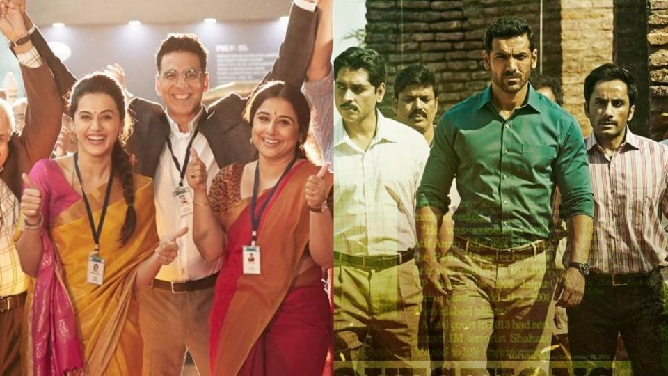 Mission Mangal vs Batla House box office day 4: The Akshay Kumar starrer is set to cross the Rs 100 crore mark as John Abraham's film heads to Rs 50-crore mark.