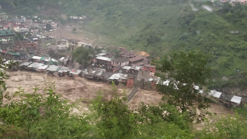 The torrential rains had caused heavy damage in Arakot, Mori, Tikochi and Snail villages in Uttarkashi, about 150km away from Dehradun on Sunday.