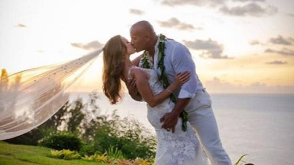 The Rock Gets Married Again