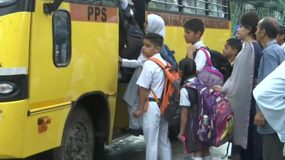 Officials said the government has made necessary arrangements for opening of 190 primary schools in Srinagar city as security forces remained deployed in most of the Valley.