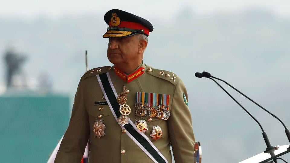 Pakistan's Army Chief of Staff General Qamar Javed Bajwa