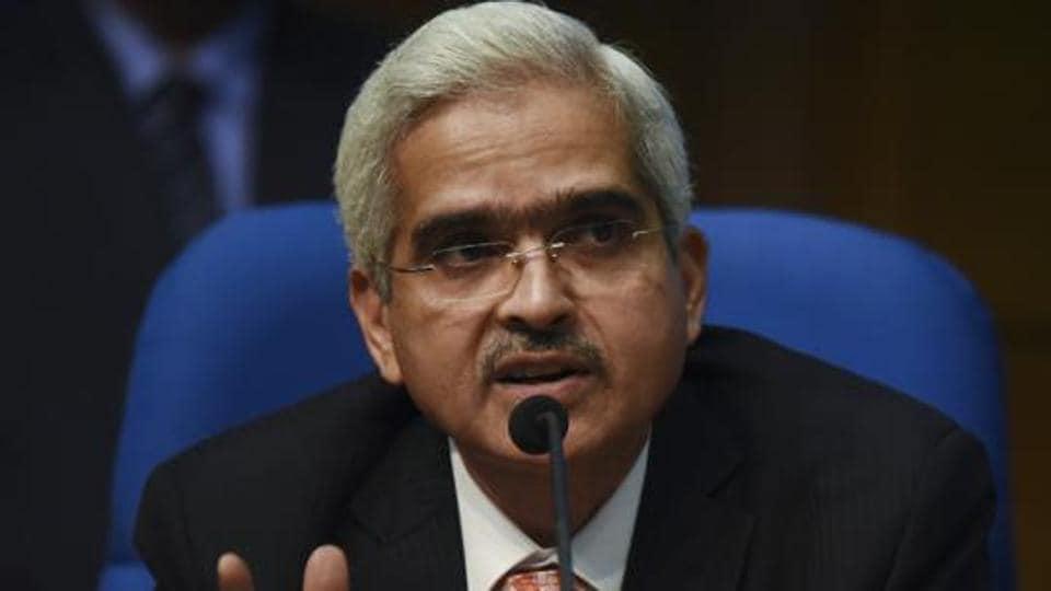 RBI Governor  Shaktikanta Das .