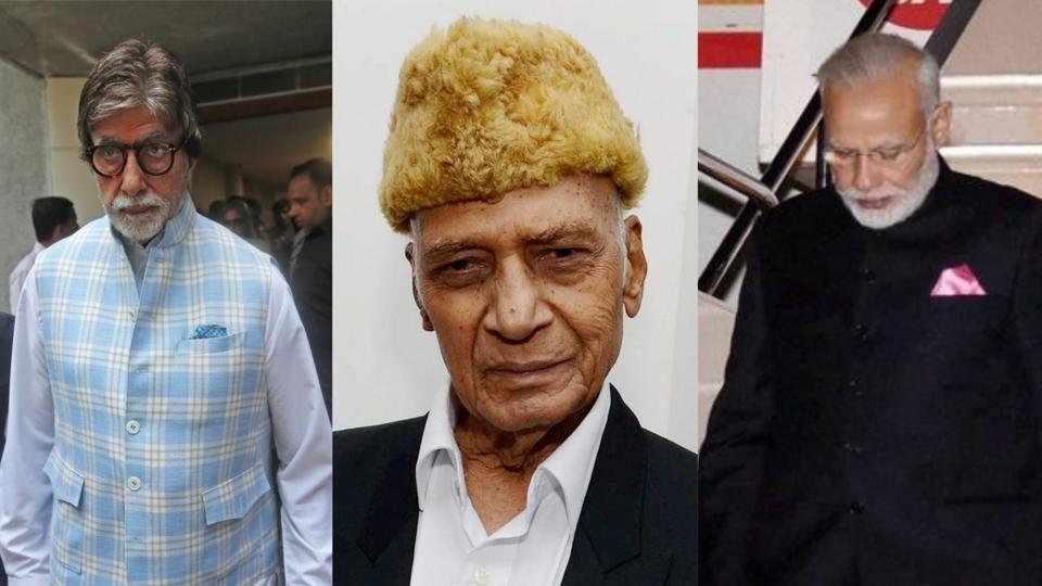 Amitabh Bachchan, Narendra Modi have mourned the death of veteran music composer Khayyam.