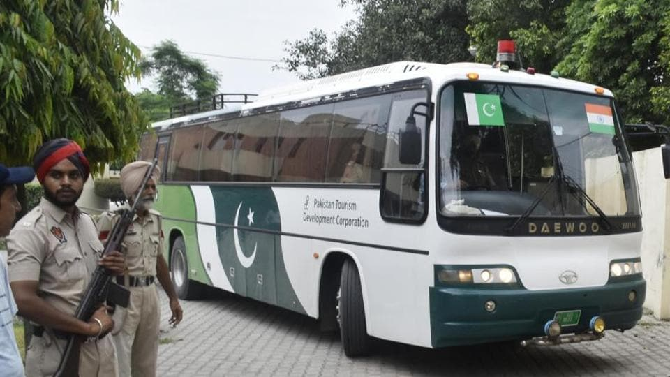Forty-two residents  of Pakistan-occupied-Kashmir(PoK) were stranded in Poonch and six Jammu and Kashmir residents  in  PoK on Monday after Pakistan refused to open gates on the Line of Control and suspended the weekly Poonch-Rawalakot bus service. Rawalakot lies in PoK.