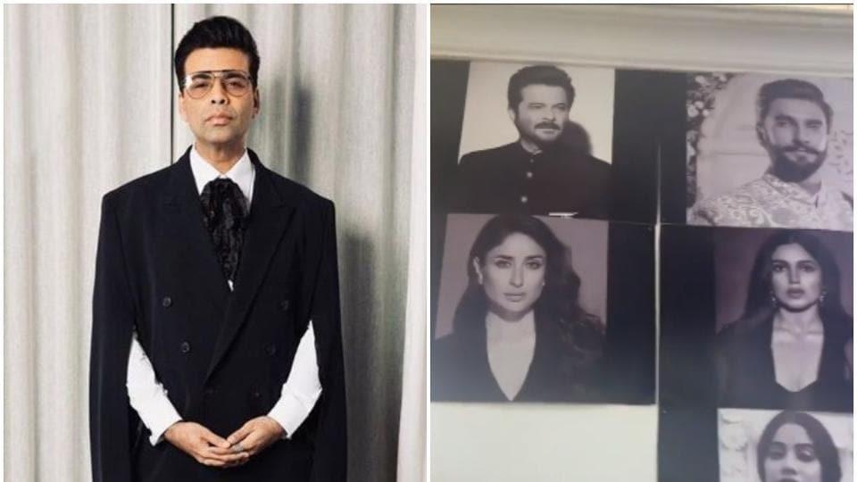 Takht  Karan Johar shares a prep video featuring Alia Bhatt, Kareena Kapoor, Ranveer Singh. Watch - Hindustan Times