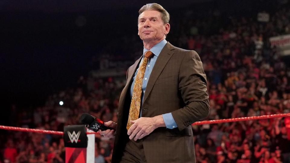 Vince McMahon on WWE Monday Night Raw.