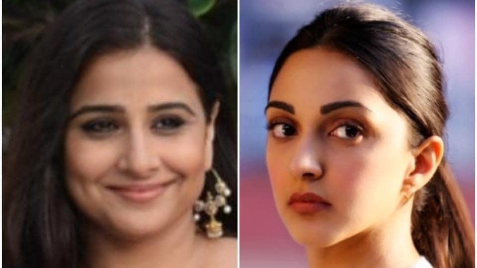 Vidya Balan most recently appeared in Mission Mangal; Kiara Advani in a still from Kabir Singh.