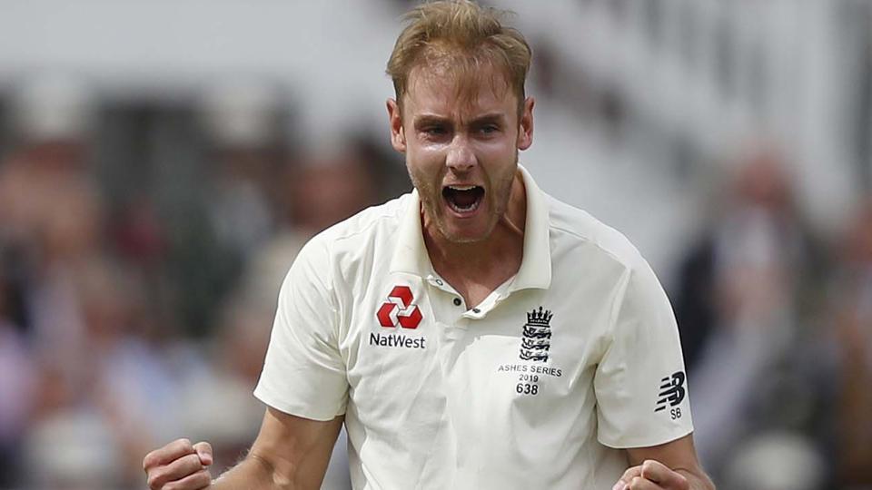File image of England cricketer Stuart Broad.