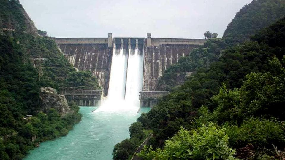 The water level in the Bhakra dam till the evening of August 19 was 1,681 feet, one foot over the critical mark of 1,680 ft.