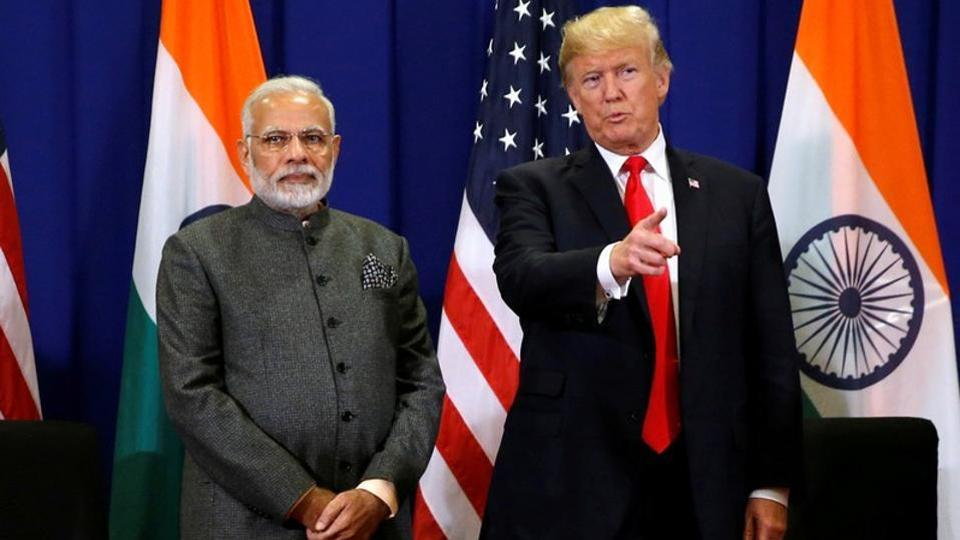 """Donald Trump has in a telephonic conversation urged Pakistani Prime Minister Imran Khan to """"moderate rhetoric"""" with India over the situation in Jammu and Kashmir."""