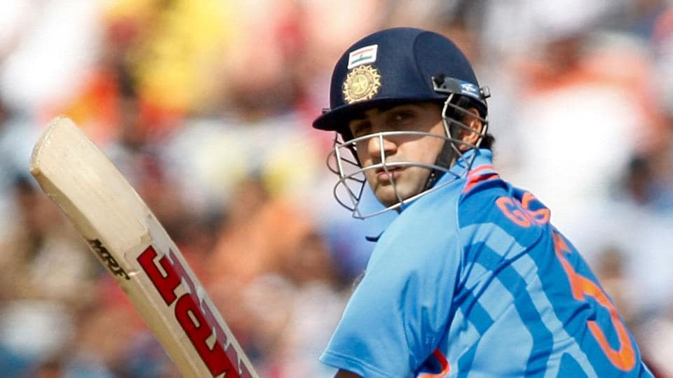 File image of former India cricketer Gautam Gambhir in action during 2011 World Cup.