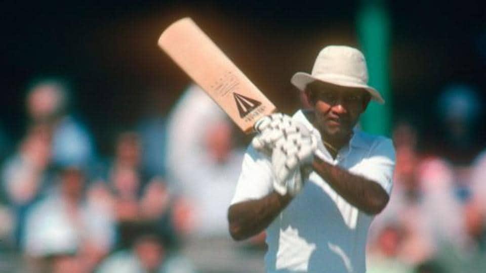 West Indian batsman Alvin Kallicharan
