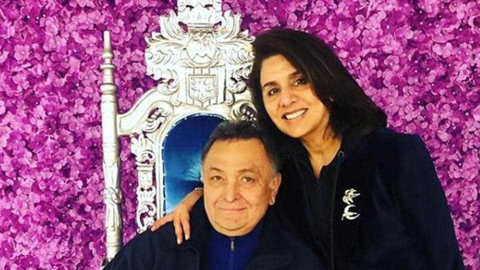 Rishi Kapoor and NeetuKapoor have been stationed in New York for his cancer treatment since September last year.