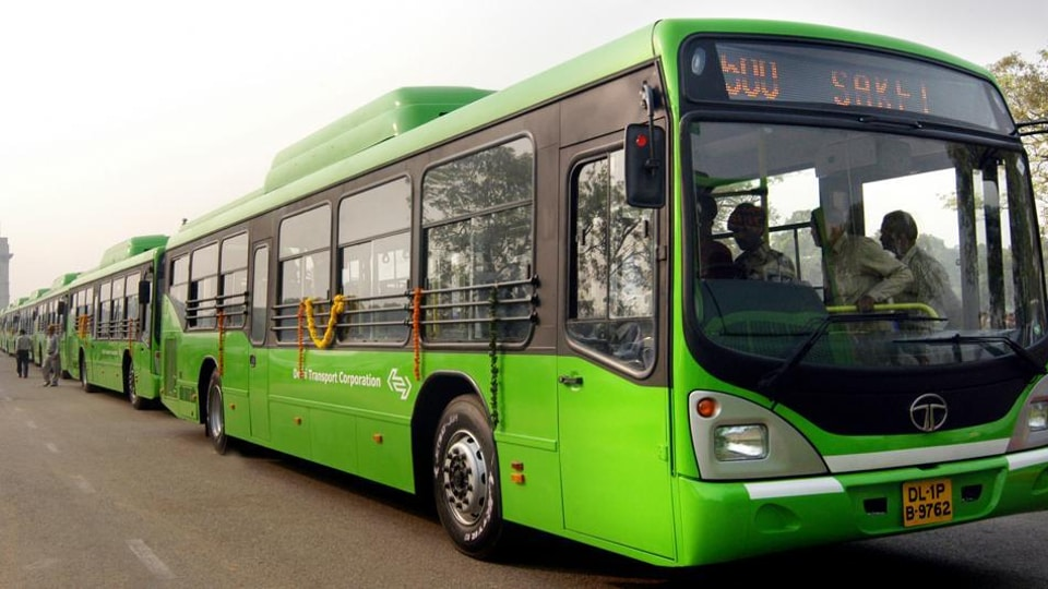 The non air-conditioned, standard floor buses, which were flagged off on Tuesday, are first in the city to be fitted with hydraulic lifts for easy access for the differently-abled and senior citizens.