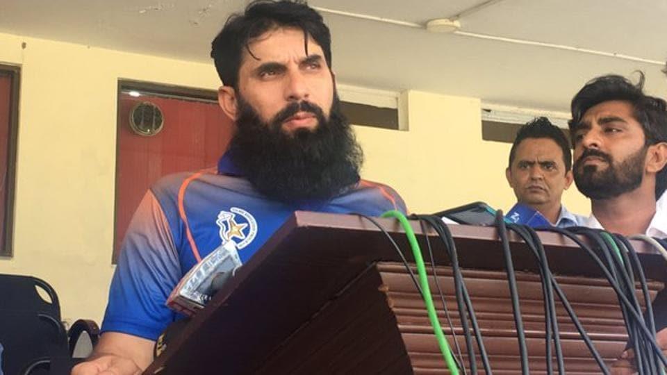 Afile photo of former Pakistan cricketer Misbah-ul-Haq.