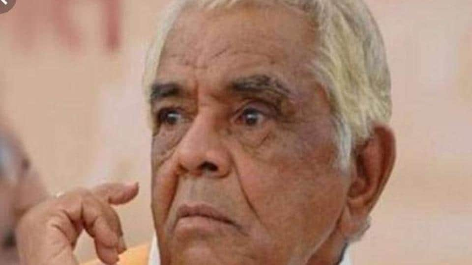 Babulal Gaur, 89, passed away at a private hospital in Bhopal on Wednesday morning.