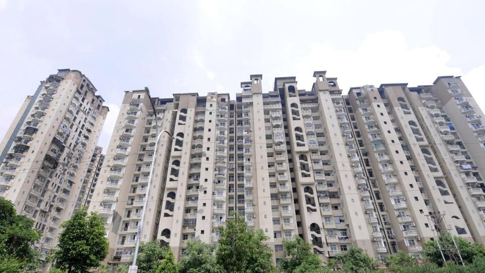 Amrapali Sapphire at sector 45, in Noida . Amrapali flat registration is to begin as soon as the Noida Authority prepares a roadmap.