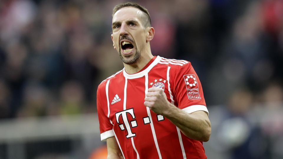 Afile photo of Franck Ribery.