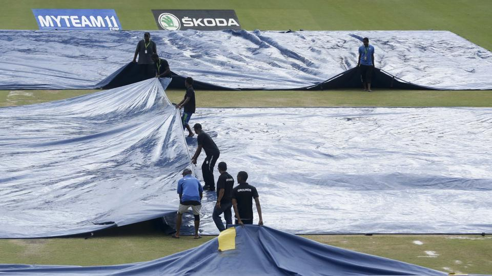 India vs West Indies 1st Test Day 1 Weather report: Rain to