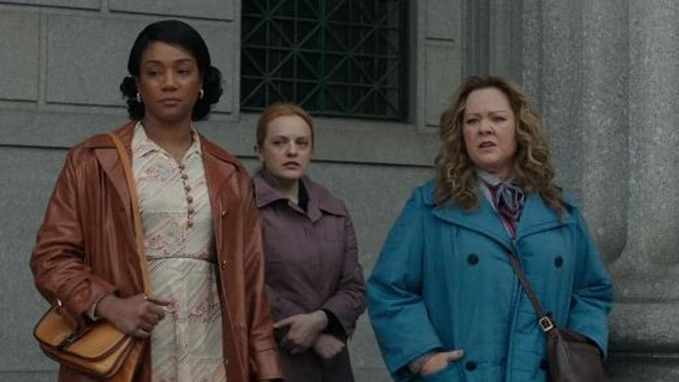 The Kitchen movie review: Melissa McCarthy, Elisabeth Moss and Tiffany Haddish star in a tonally inept crime dramedy.