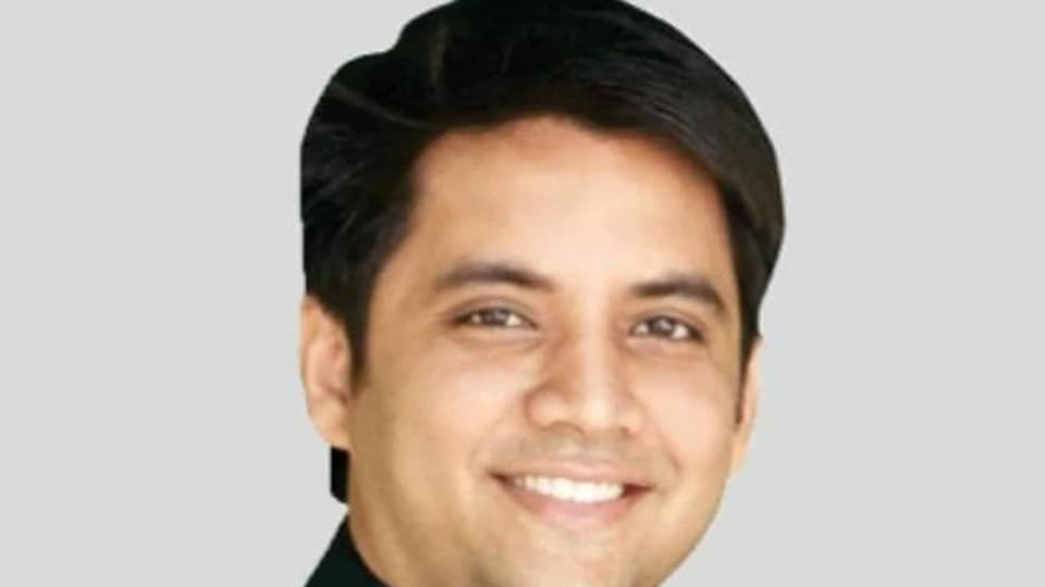 Abhishek Singh was reportedly one of the campaigners of the company involved in the chit fund scam.(FACEBOOK)