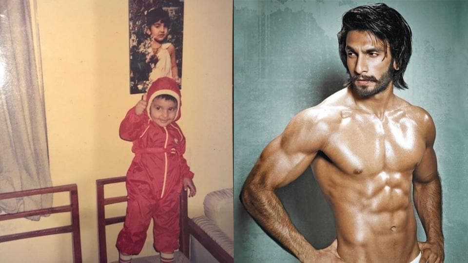 Ranveer Singh shares childhood pic with fashion sense intact
