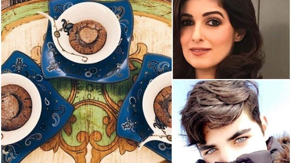Twinkle Khanna shared pictures of a meal cooked by her son,Aarav.