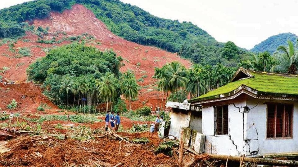 Experts say soil erosion and quarrying have affected the 'ecologically sensitive' hills of Western Ghats. (HT photo)