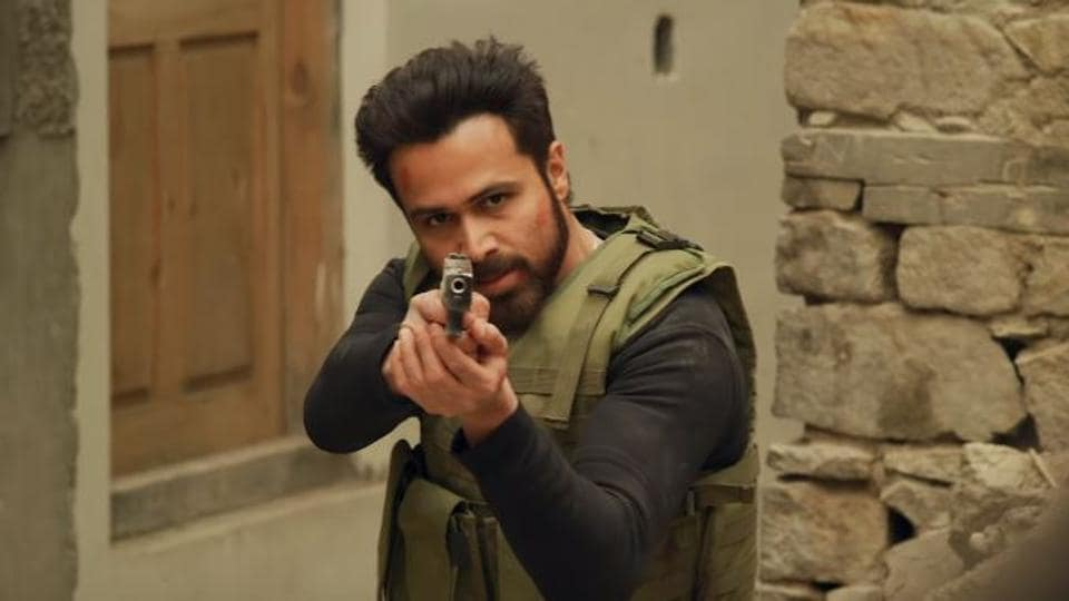 Emraan Hashmi in a still from Bard of Blood.