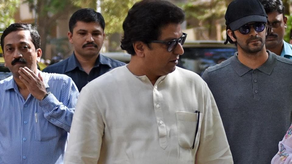 Raj Thackery , on Thursday appeared before the Enforcement Directorate in connection with the probe into the Infrastructure Leasing & Financial Services.