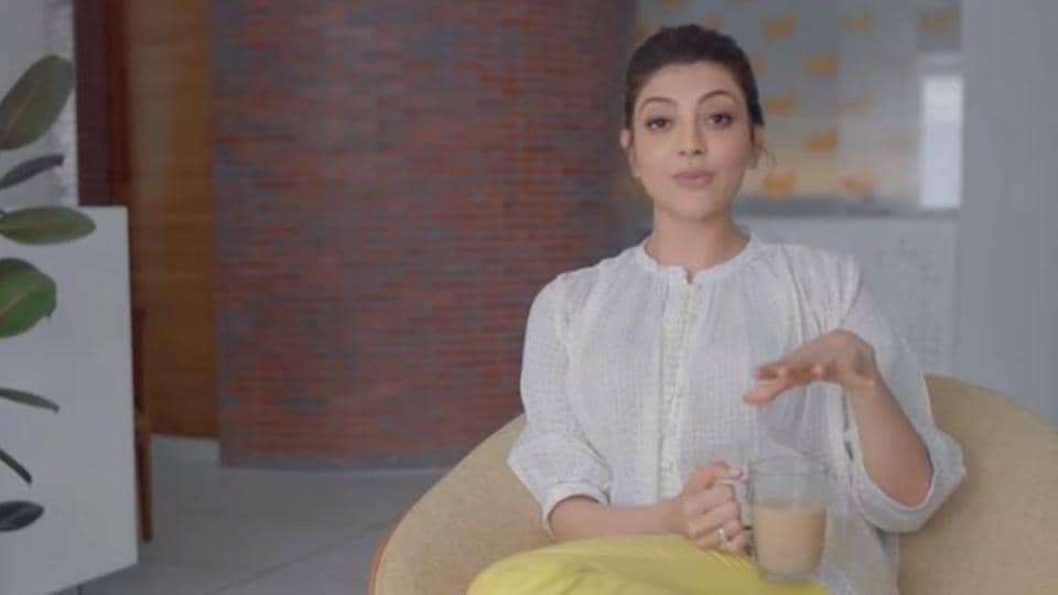 Kajal Aggarwal takes her fans on a video tour of her home.