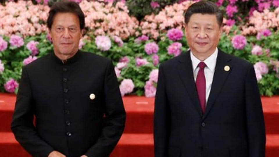 Pakistani Prime Minister Imran Khan and Chinese President Xi Jinping