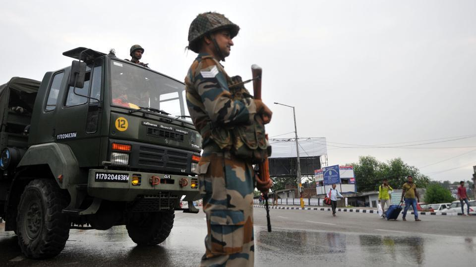 An Army personnel was killed on Friday in Pakistani Army firing along the Line of Control (LoC) in Rajouri district of Jammu and Kashmir, officials said
