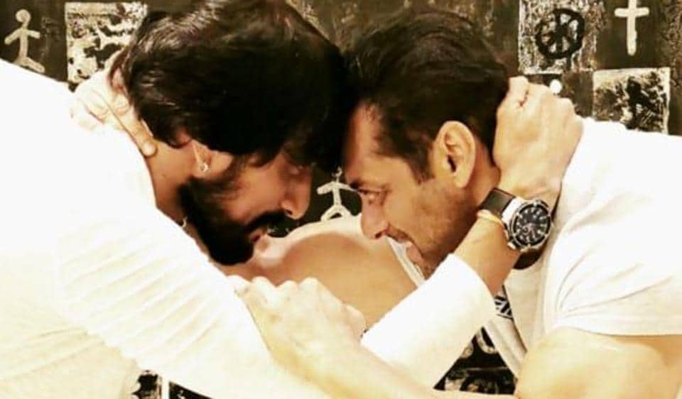 Salman Khan and Sudeep will work together in Dabangg 3.