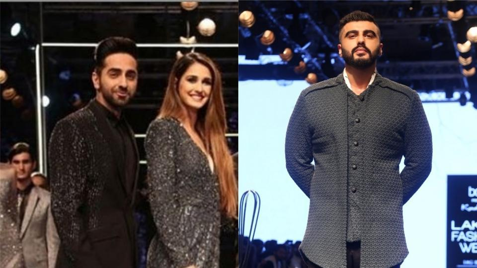Bollywood stars walk the ramp at the ongoing Lakme Fashion Week 2019.