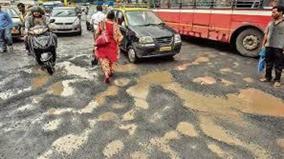 BMC on Saturday asked citizens to not fill potholes by themselves