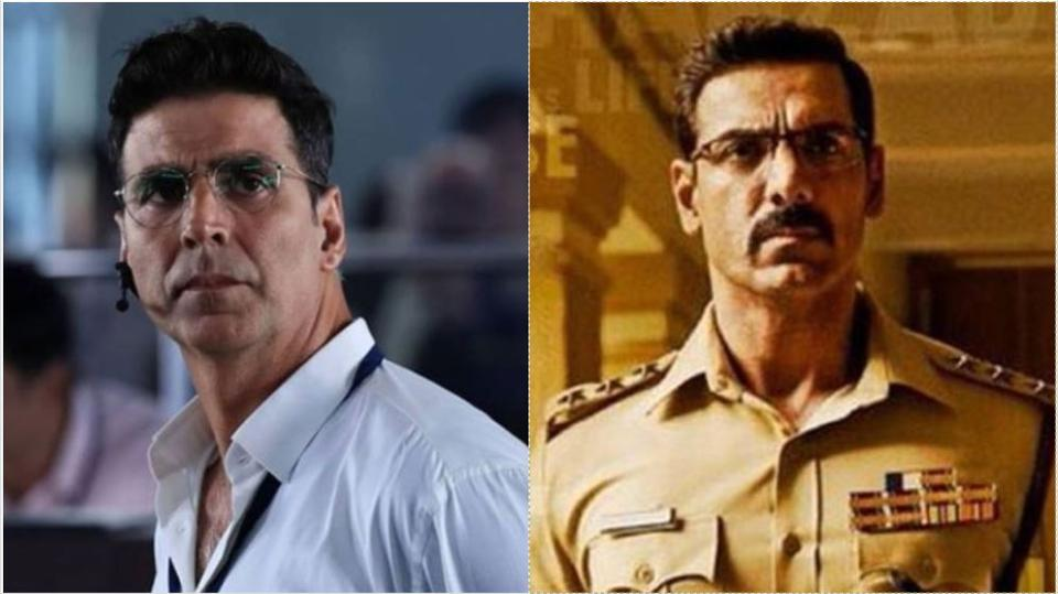 Akshay Kumar stars in Mission Mangal while John Abraham stars in Batla House.