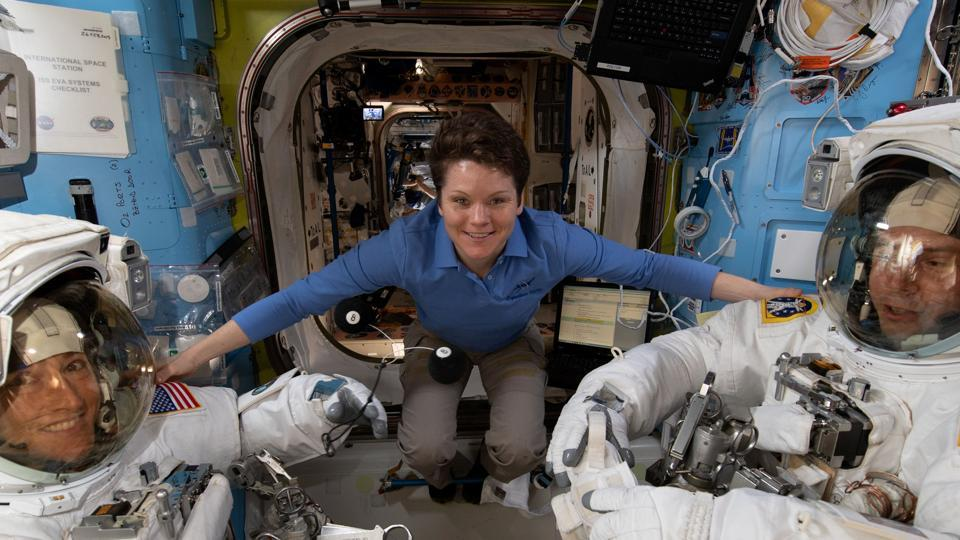 Anne McClain joined the astronaut programme in 2013 after flying more than 800 combat hours in Iraq and was supposed to be a part of NASA's first all-female spacewalk in March before it was cancelled.