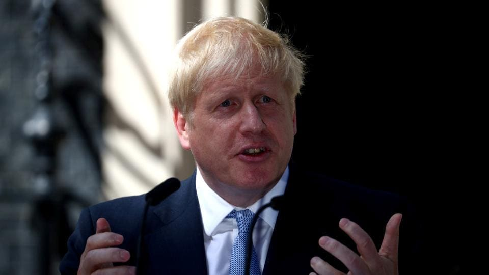 The US must lift restrictions on UK businesses if it wants a trade deal with the UK, Prime Minister Boris Johnson has said.