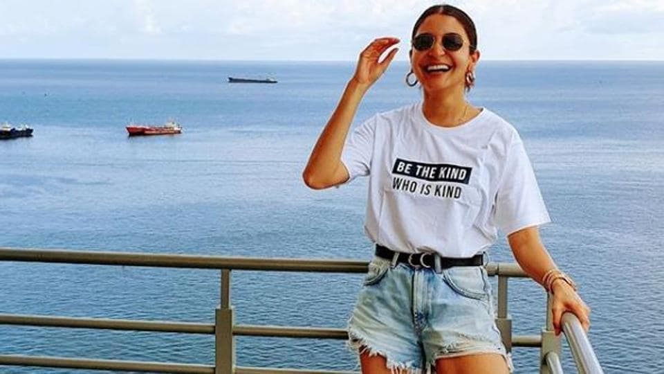 Anushka Sharma has shared a new picture from West Indies.