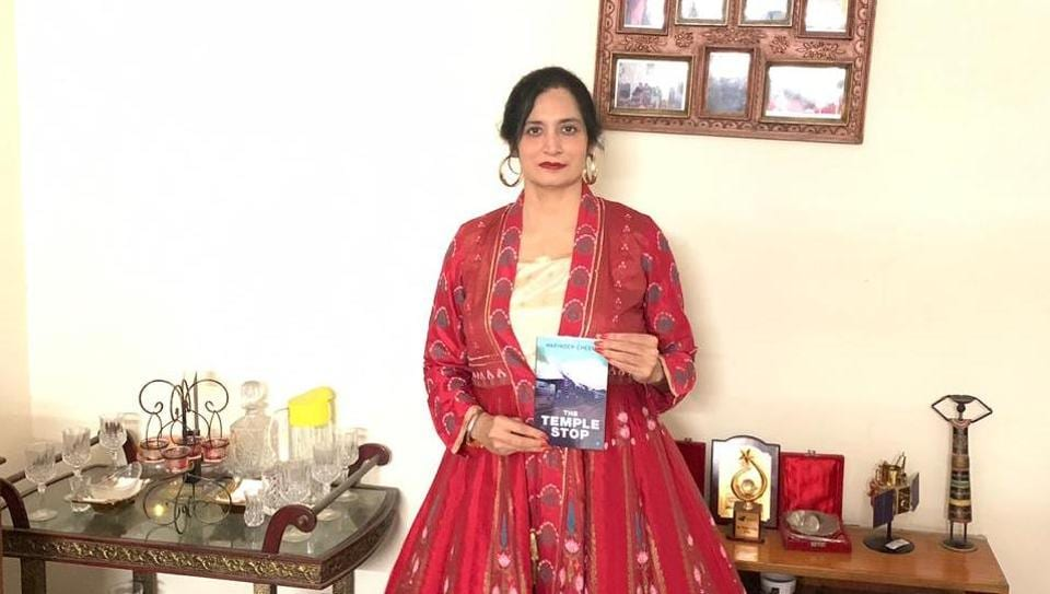 Delhi-based writer Harinder Cheema's debut book is titled The Temple Stop.