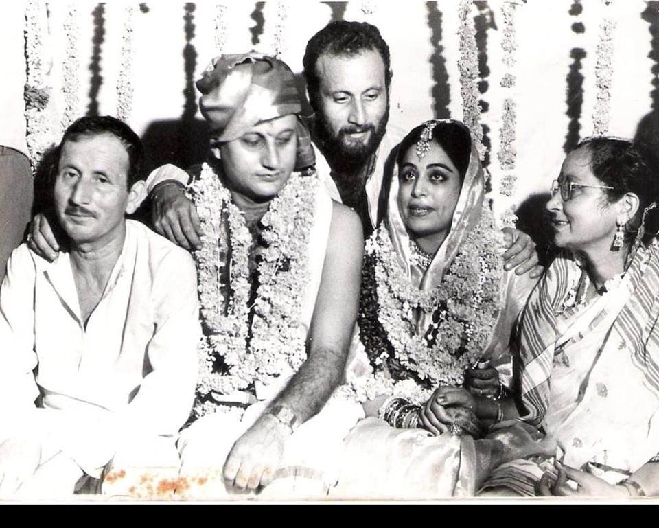 Anupam Kher and Kirron Kher have completed 34 years of marriage.