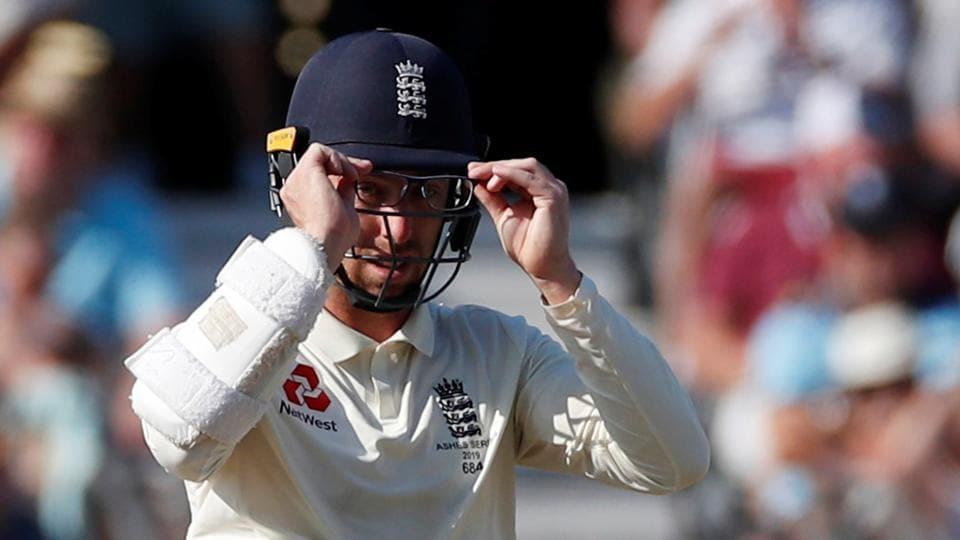 England's Jack Leach