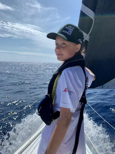 Extreme measures make sense to Thunberg because extreme is our reality now. And so she's voyaged across the Atlantic in a yacht with no toilet and no kitchen. But is there much point in such a statement, if the example one is setting cannot be followed?