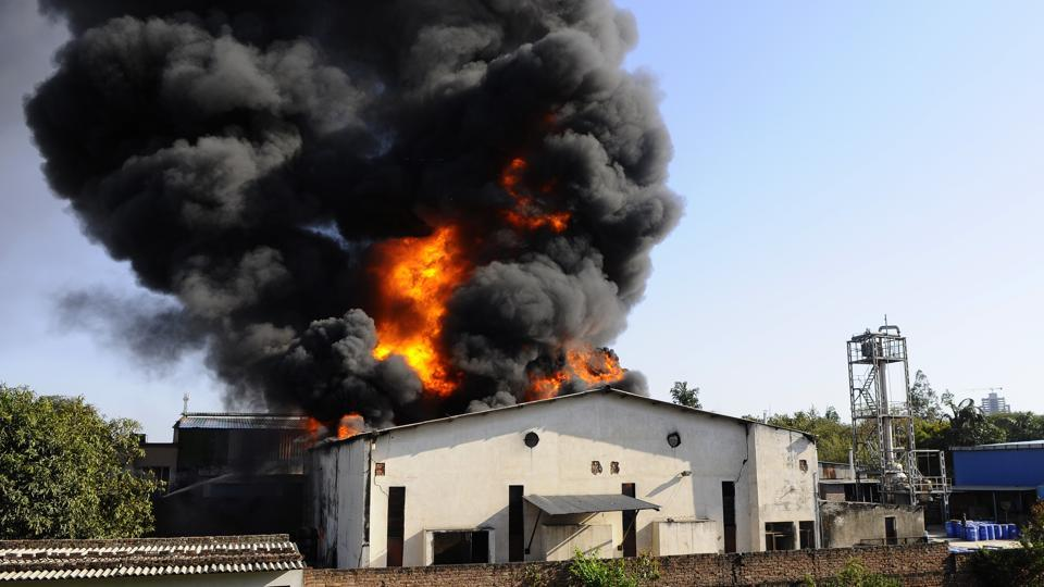 Despite multiple fire mishaps, majority of industrial units in Mohali district fail to ensure fire-safety compliance on their premises.