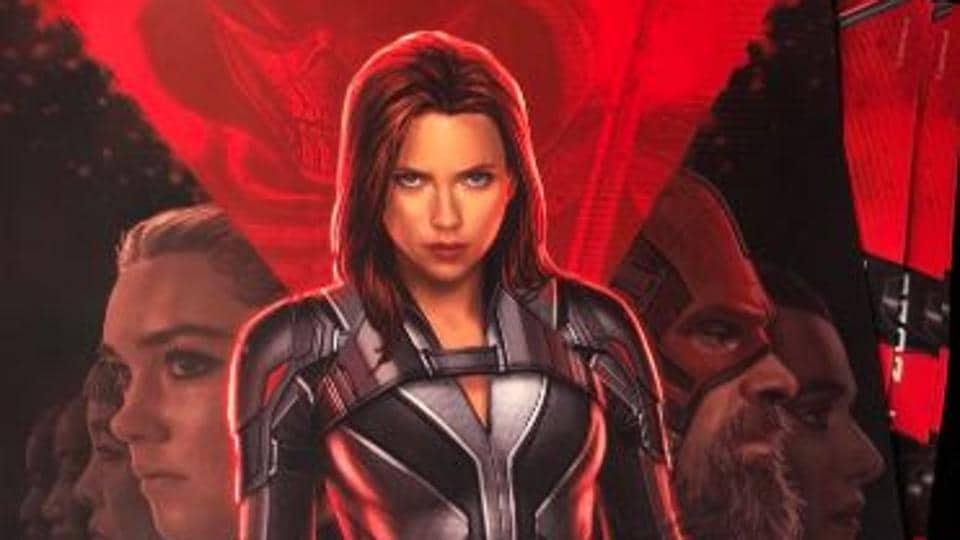 Black Widow New Poster Scarlett Johansson Debuts As All New